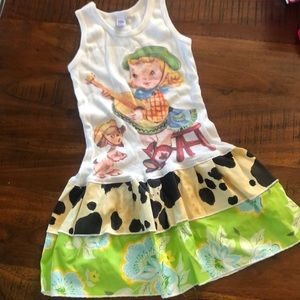 Vintage Lucy's Cowgirl Dress
